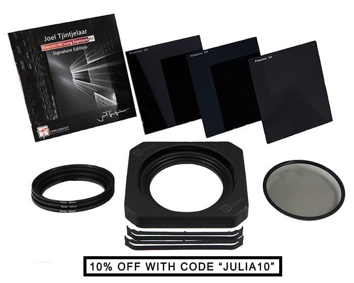 Long exposure kit Joel Tjintjelaar Signature Edtion - 10, 6, 3-stop nd filters