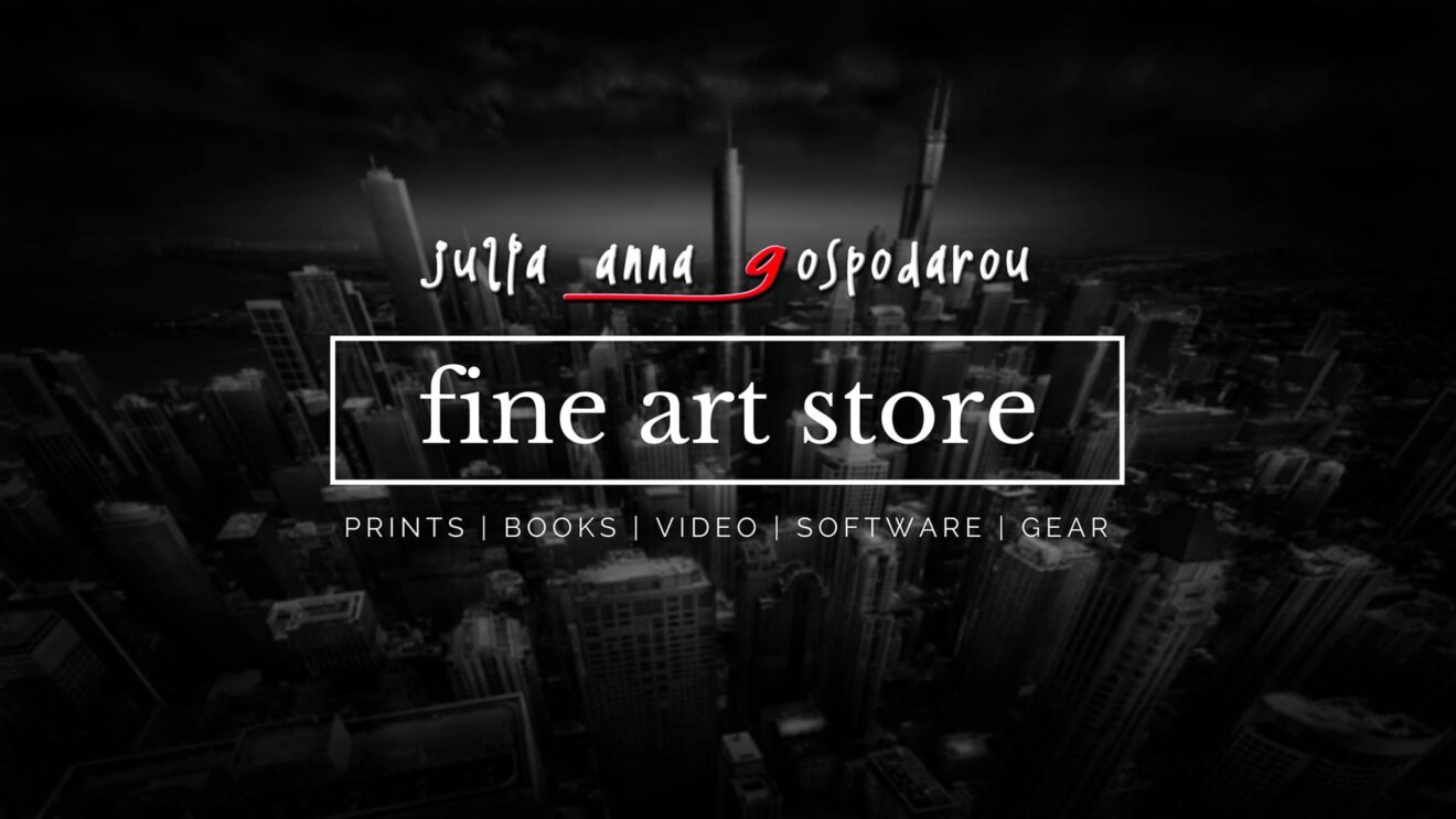 Julia Anna Gospodarou fine art store black and white photography, long exposure photography, architecture photography