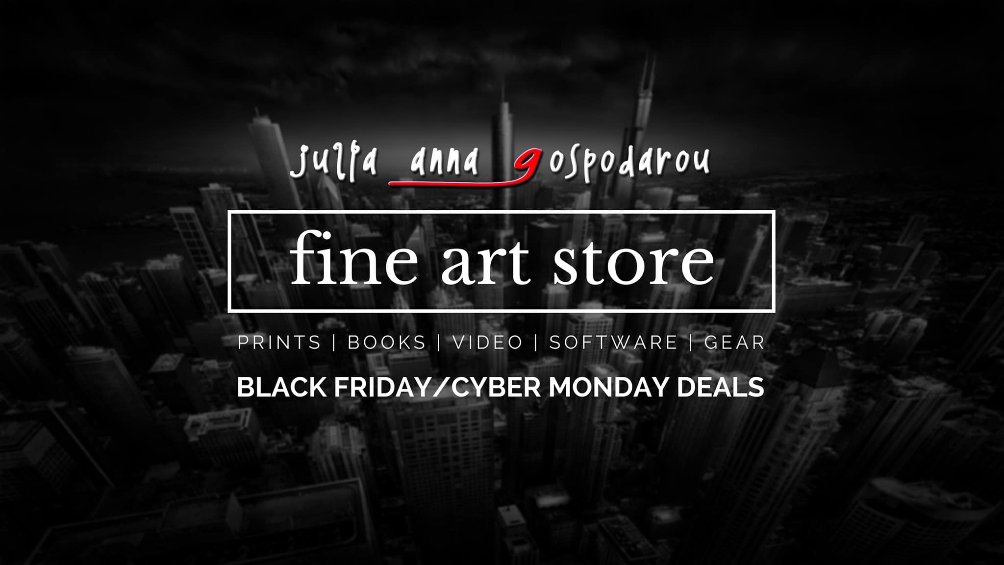 Julia Anna Gospodarou fine art store black and white photography, long exposure photography, architecture photography black friday