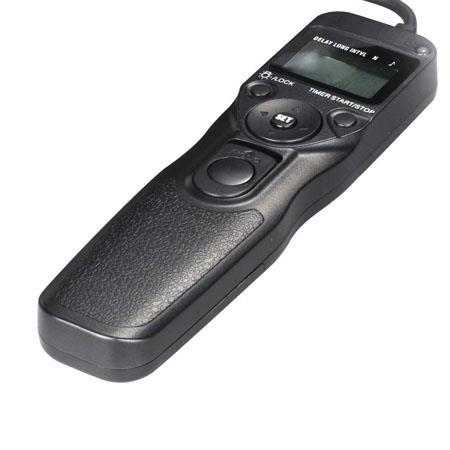 LCD Remote Shutter Control with timer for Canon
