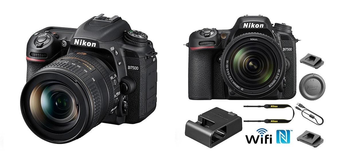 Nikon D7500 DX-format Digital SLR Camera