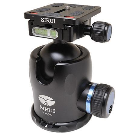 Sirui K-40X 54mm Ballhead with Quick Release (advanced tripod head solution)