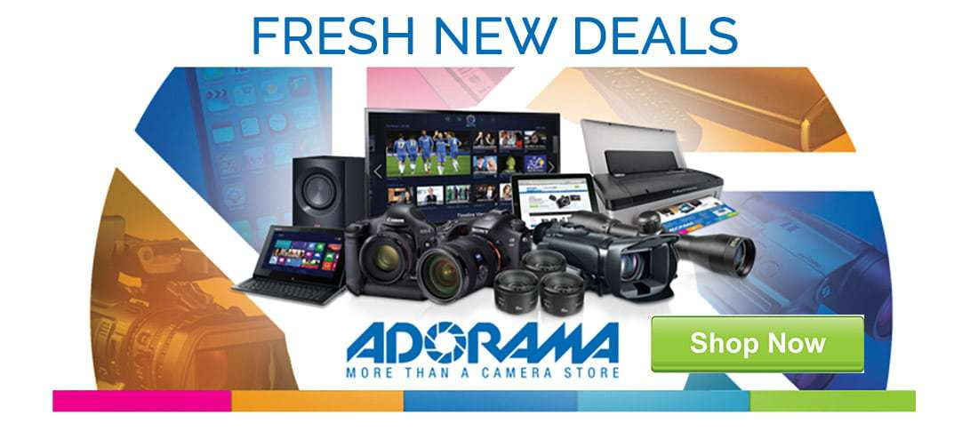 Latest gear deals from Adorama