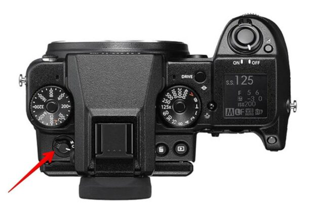 Fujifilm GFX 50S - Auto-focus on off button
