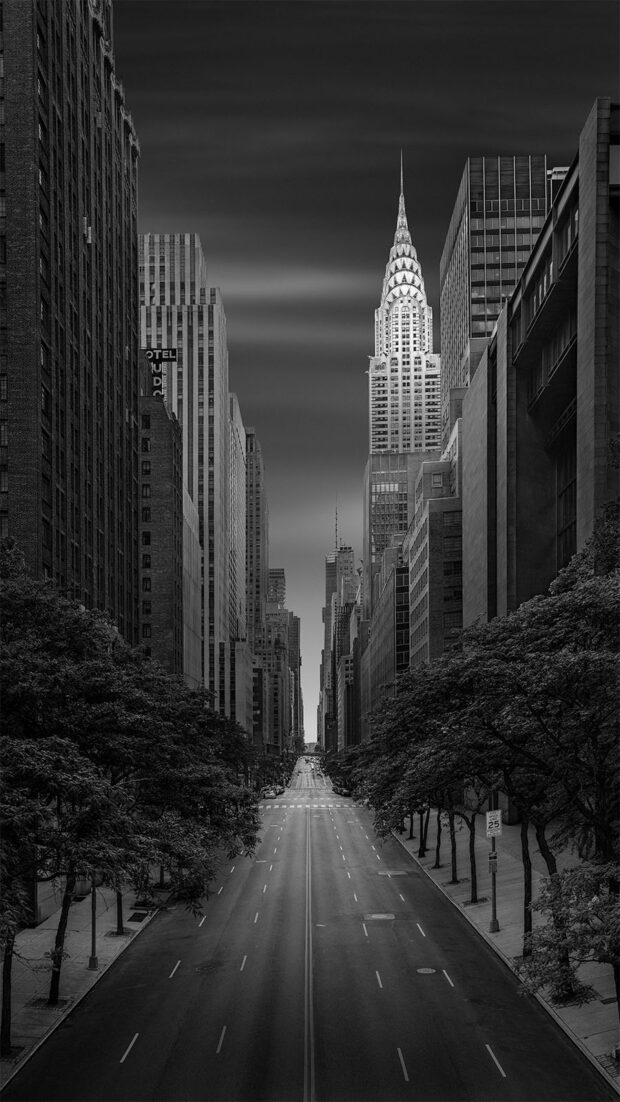 Dali's Distant Dream - Chrysler Building - New York © Julia Anna Gospodarou - fine art photography principles