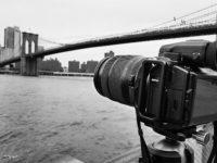 Fujifilm GFX 50S new york brooklyn bridge