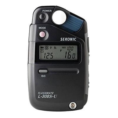 Sekonic L-308S-U Flashmate Digital Incident Reflected and Flash Light Meter