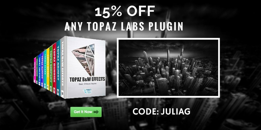Topaz Labs Plugins Discount 15% OFF