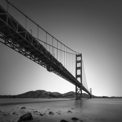 Wings - Gloden Gate Bridge San Francisco - © Julia Anna Gospodarou 2017 - 10mm Nikon 10-24mm Lens, 338 sec. f/11 ISO 100 16-stop ND Filter