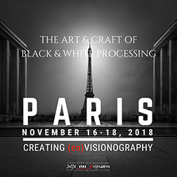 Paris workshop 2018 black and white processing