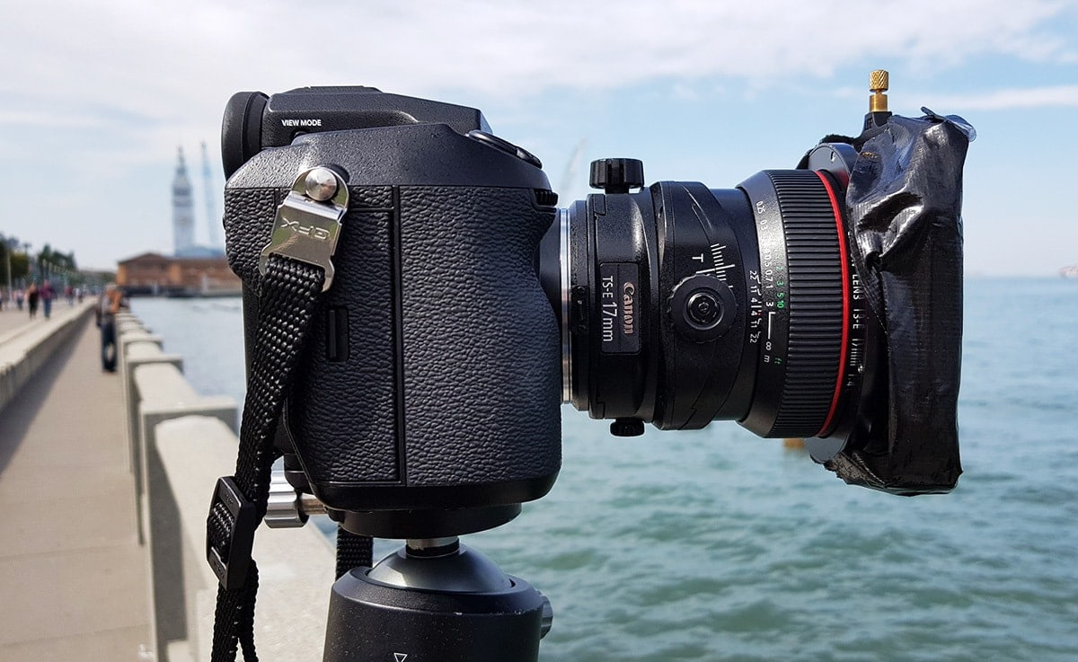 long exposure with tilt-shift lens