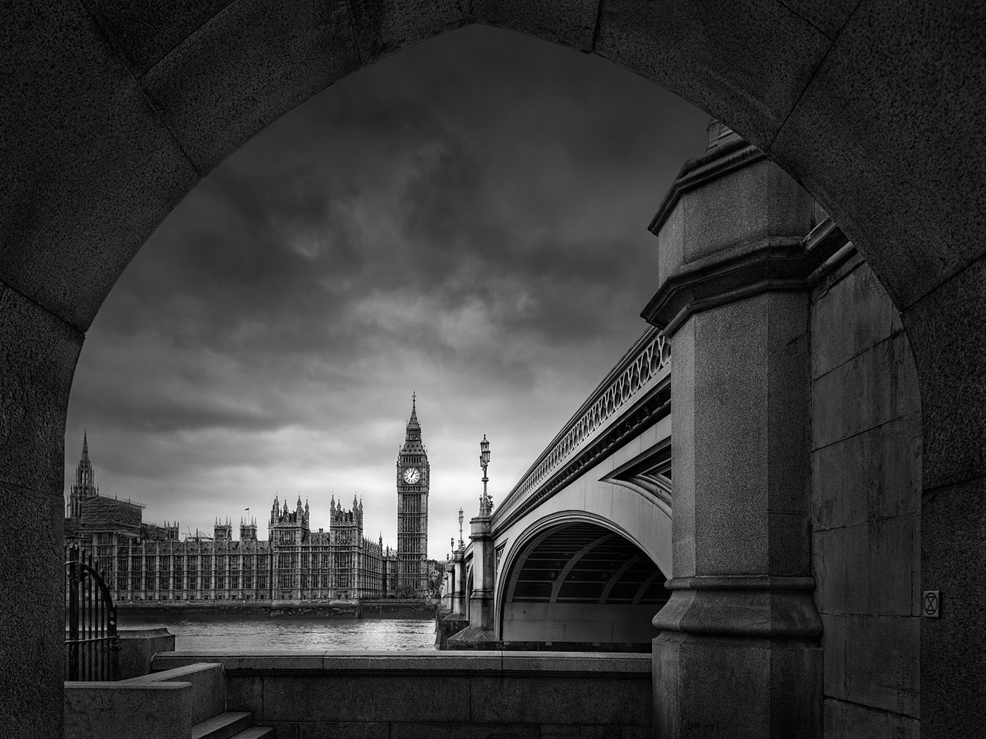 Silent Storm - London -© Julia Anna Gospodarou - fine art photography principles
