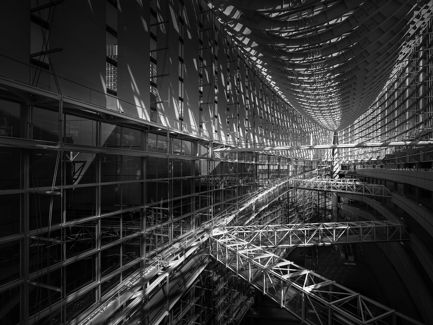 Cathedral I - Tokyo Forum - © Julia Anna Gospodarou 2018 - fine art photography principles