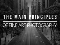 Main principles of fine art photography