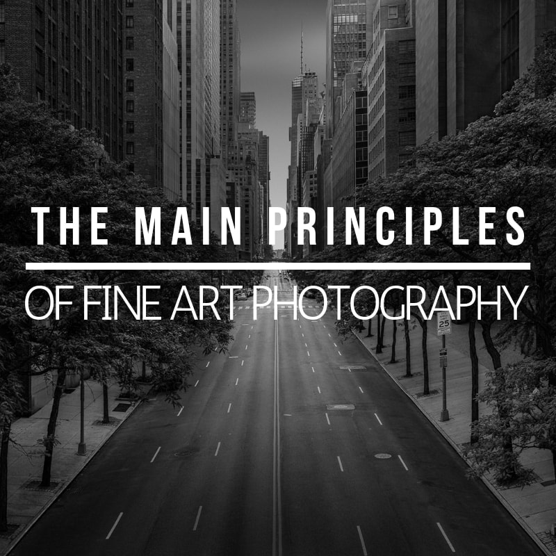 Main fine art photography principles