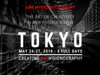 Tokyo 2019 workshop the art of creativity in black and white photography