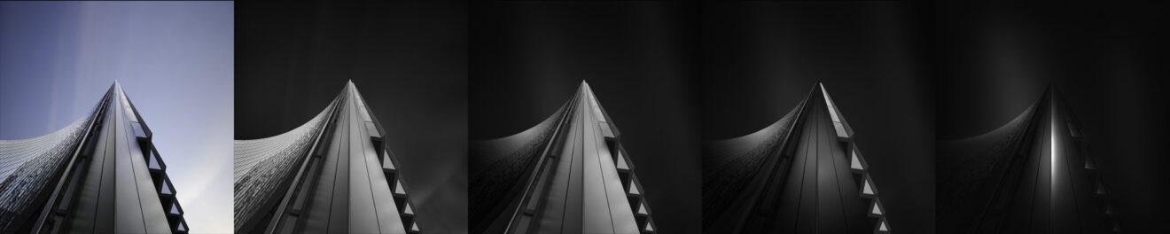 Ode to Black | Black Hope I - Self Black - ©Julia Anna Gospodarou 2012 - Creating an (en)Visionography image - Processing Steps