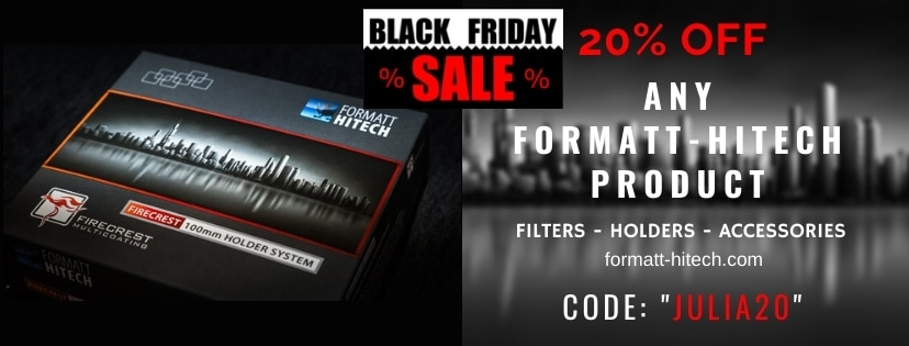 BLACK FRIDAY FORMATT-HITECH ND FILTERS & EQUIPMENT - 20% OFF - CODE: JULIA20