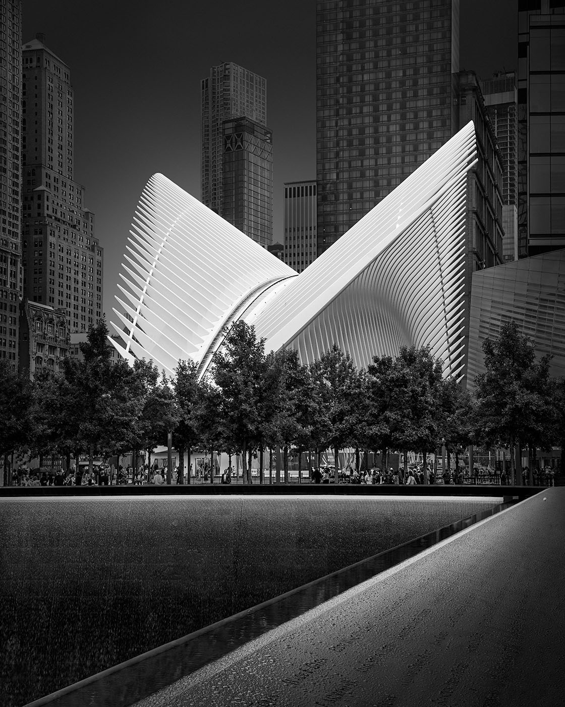 Flying Away II - Oculus, New York © Julia Anna Gospodarou 2020 - shortcuts versus real craftsmanship in art and photography