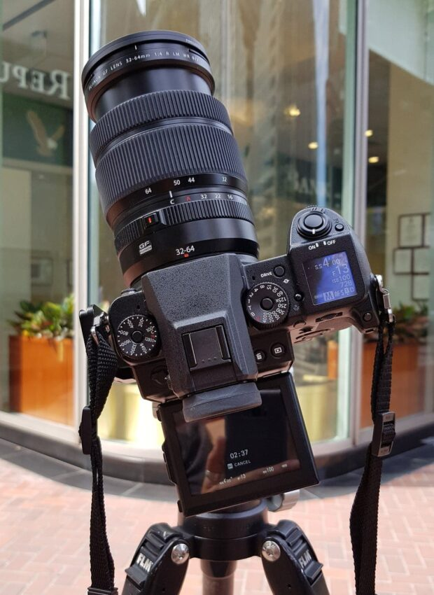 stacked circular neutral density filters - long exposure photography in an urban environment