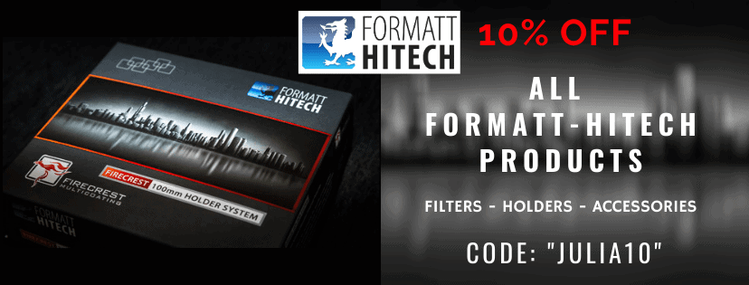 ANY Formatt-Hitech product - filters, holders etc. discount 10% OFF - CODE