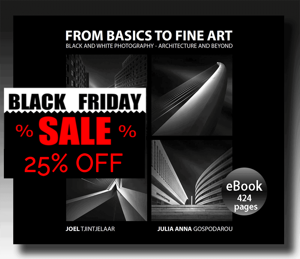 Best-selling eBook From Basics to Fine Art - Black and White Photography - Black Friday Discount 25% OFF