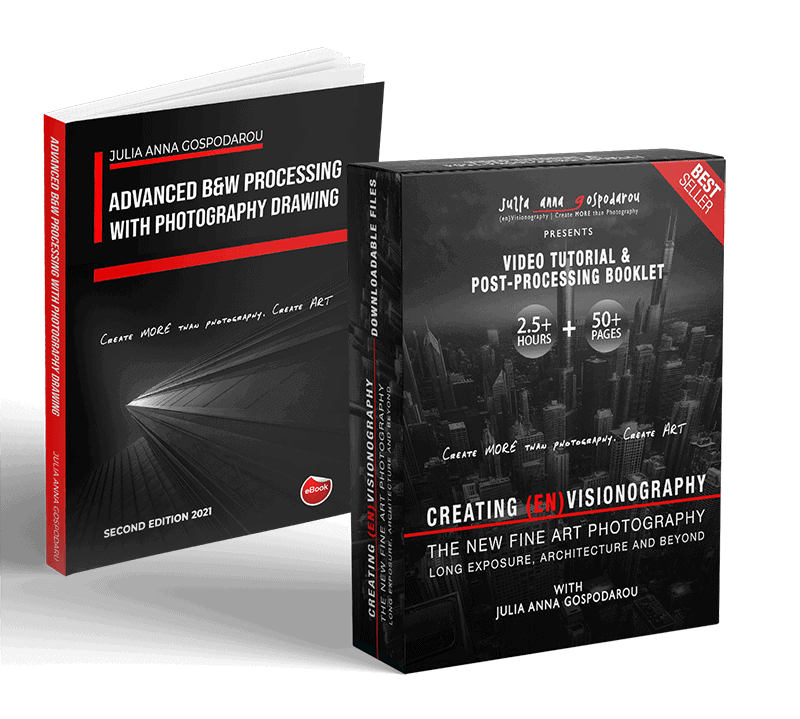 VIDEO TUTORIAL AND 50-page EBOOK (Second Edition 2021) - CREATING (EN)VISIONOGRAPHY LONG EXPOSURE, FINE ART, ARCHITECTURE PHOTOGRAPHY