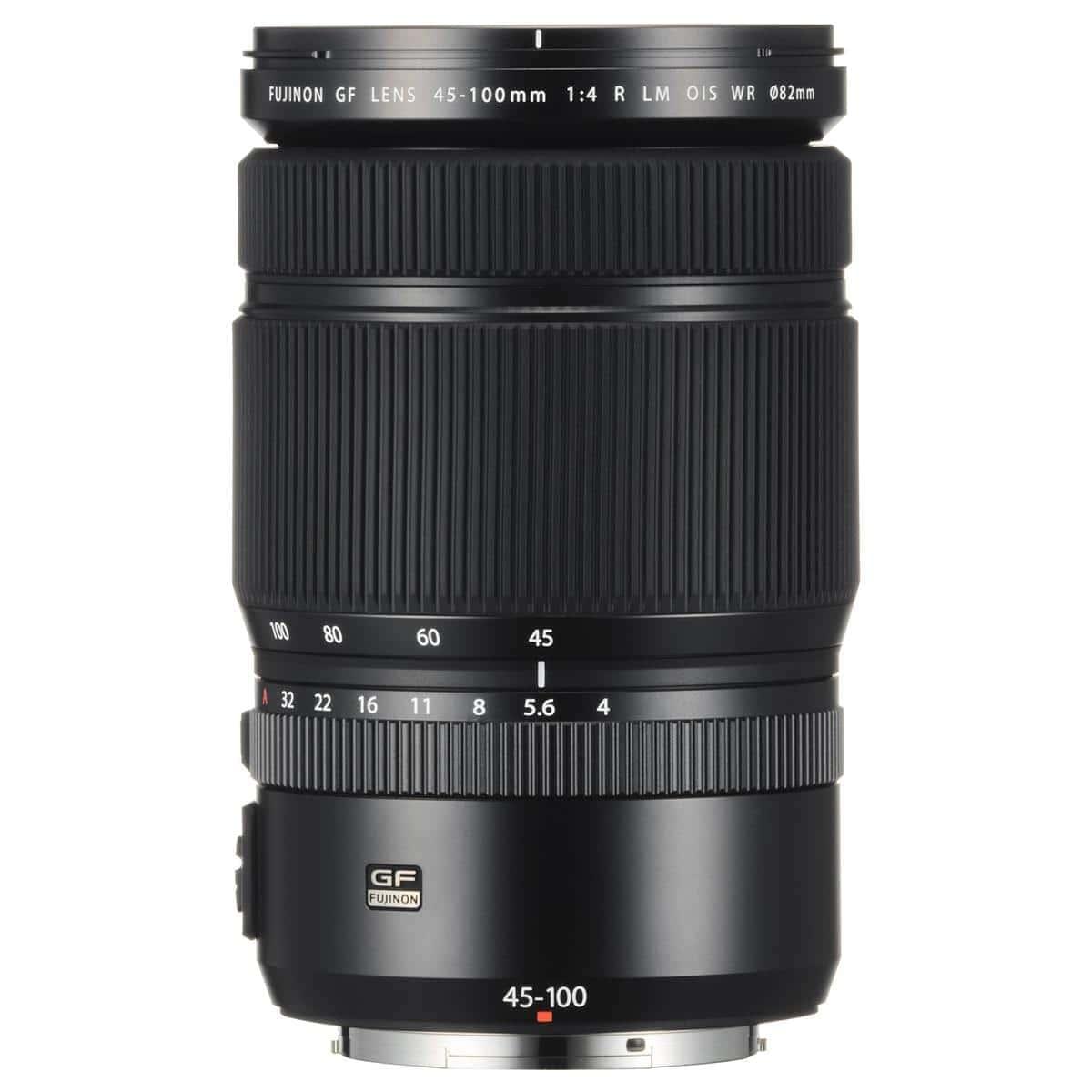 Fujifilm GF 45-100mm F4 R LM WR Zoom Lens