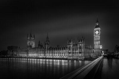 Midnight Light III - London Big Ben - © Julia Anna Gospodarou 2021