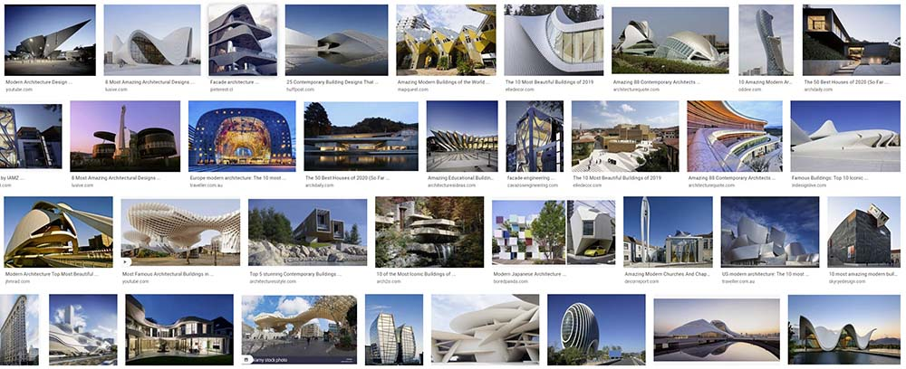 best contemporary architecture