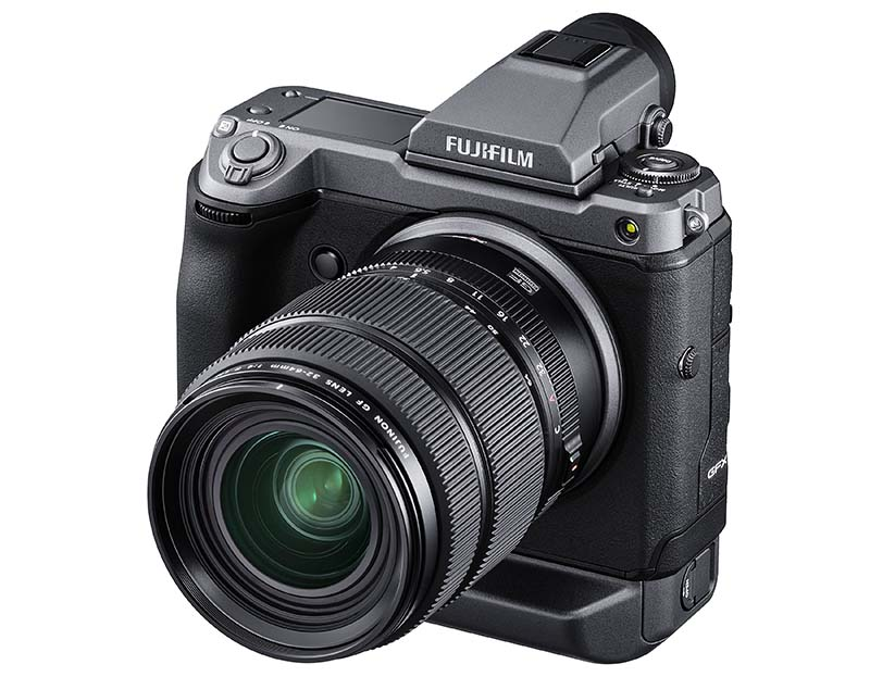 Fujifilm GFX 100 Medium Format Mirrorless Camera